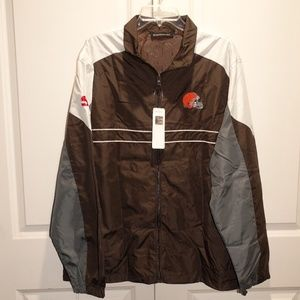 cd093b759 CLEVELAND BROWNS Sports Illustrated Jacket XL. NWT